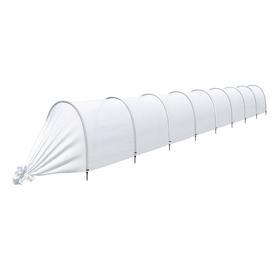 Парник прошитый «Ленивый», длина 8.5 м, 9 дуг из пластика, дуга L = 2 м, d = 20 мм, укрывной материал 35 г/м²