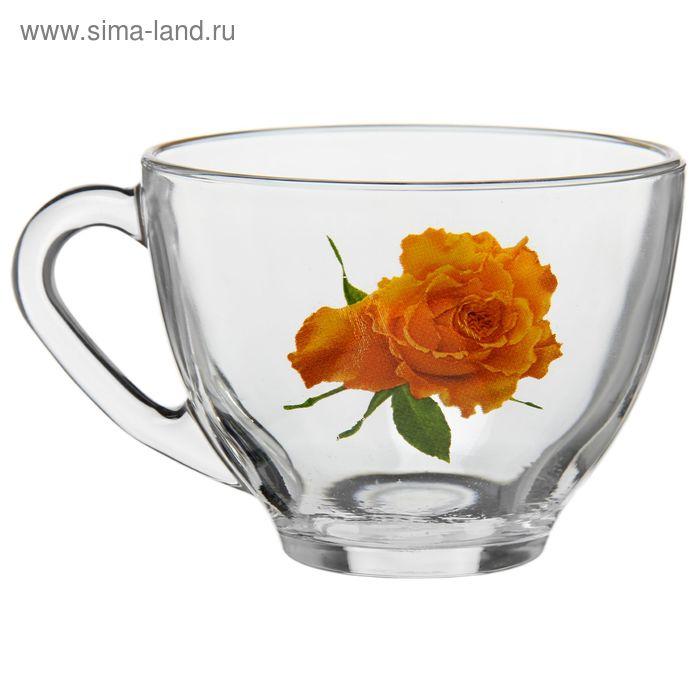 """Кружка 200 мл """"Роза желтая"""""""