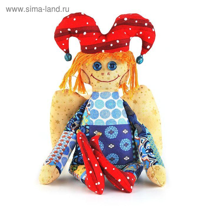 """Набор для изготовления текстильной игрушки """"Петрушка- ангел"""""""