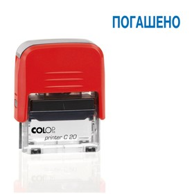 Оснастка автоматическая для штампа Colop Printer 20C, 38 х 14 мм, красная