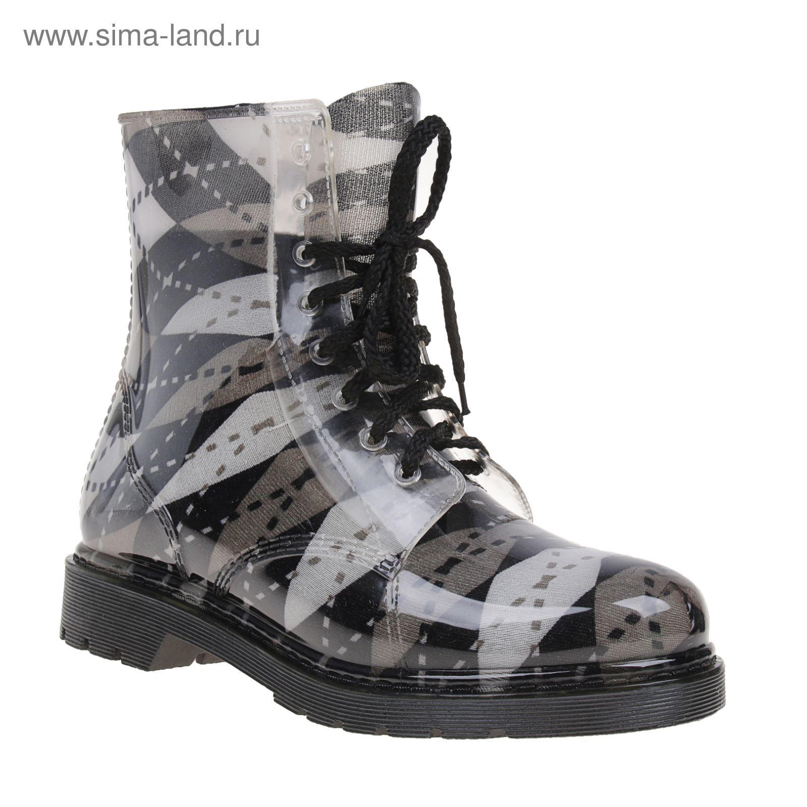 124ebb3be75b Сапоги (ботинки) женские с утеп арт.12 на шнуровке-1 (МИКС) (р. 39 ...