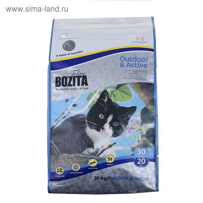 Сухой корм для активных кошек BOZITA Feline Funktion Outdoor & Active10 кг   1289084