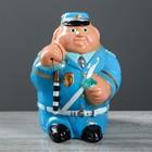 """Копилка """"Гаишник"""", глянец, синий цвет, 28 см"""
