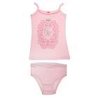 Комплект для девочки (майка+трусы), рост 152-158 см (80), цвет светло-розовый (арт. CAJ 3375)