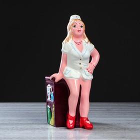 """Копилка """"Медсестра Анжела"""", глянец, разноцветная, 37 см, микс"""
