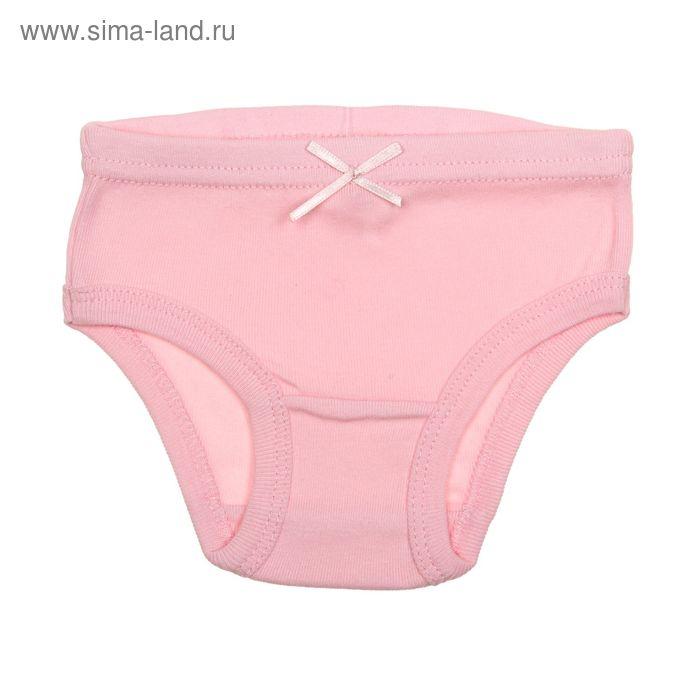 Трусы для девочки, рост 134 см (68), цвет светло-розовый (арт. CAJ 1366)