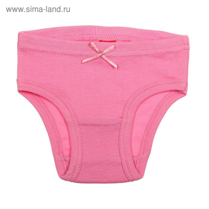 Трусы для девочки, рост 134 см (68), цвет розовый (арт. CAJ 1366)