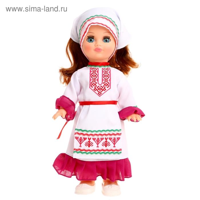"""Кукла """"Элла в марийском костюме"""" со звуковым устройством, 35 см"""
