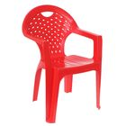 Chair, color red