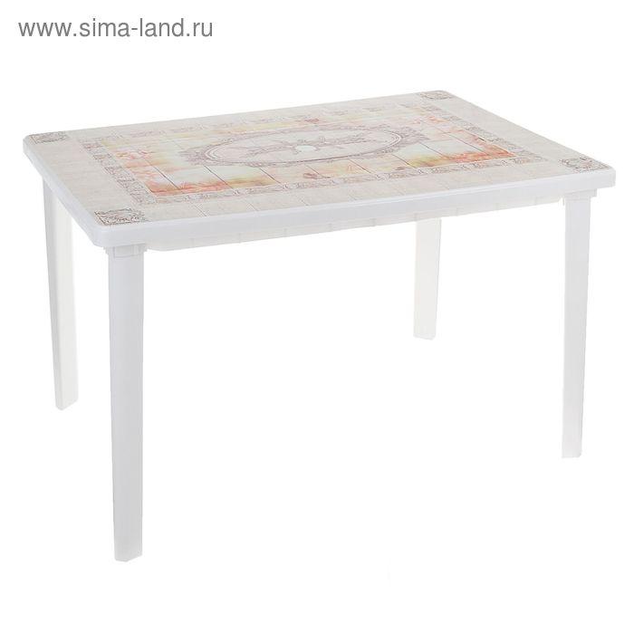 "Стол ""Верона"" прямоугольный размер 1200х850х750, цвет белый"