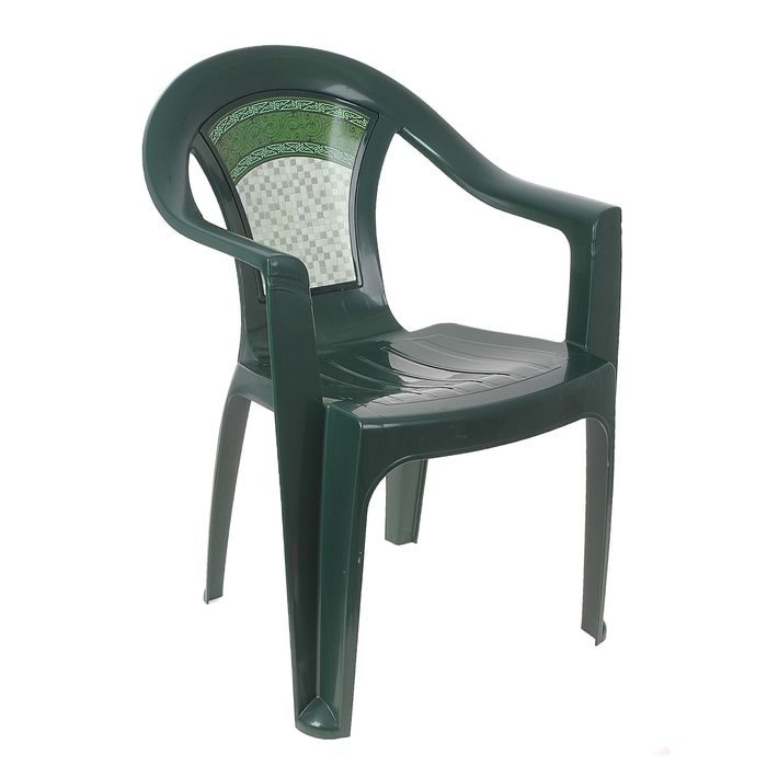 Кресло «Малахит», темно-зелёный
