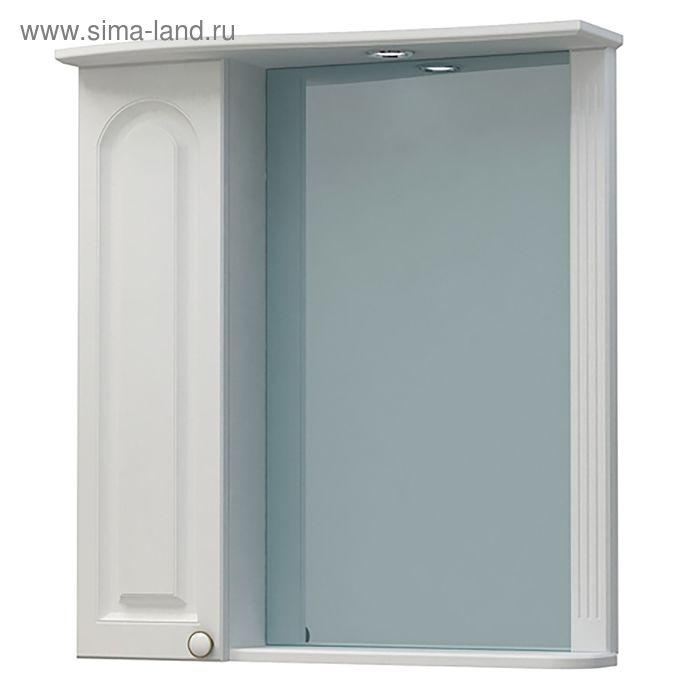 """Шкаф-зеркало """"Прованс 60С"""", белый ясень"""
