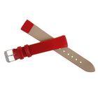Ремешок для часов, 16 мм, 18 см, красный