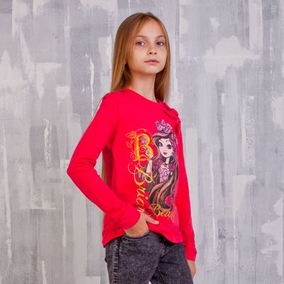 Джемпер для девочки, рост 134 см (72), цвет фуксия (арт. ZG 03405-F2_Д)