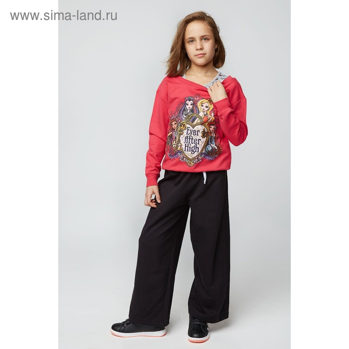 Комплект для девочки (толстовка, майка), рост 140 см (72), цвет фуксия/серый (арт. ZG 17008-MF2_Д)