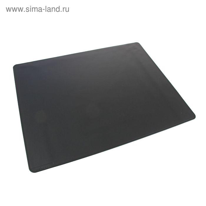 Покрытие настольное Durable, 65*52см, нескользящая основа, цвет черный