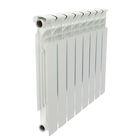 Радиатор Halsen 500/80/8 (BS), биметаллический, межосевое 500, глубина 80, 8 секций