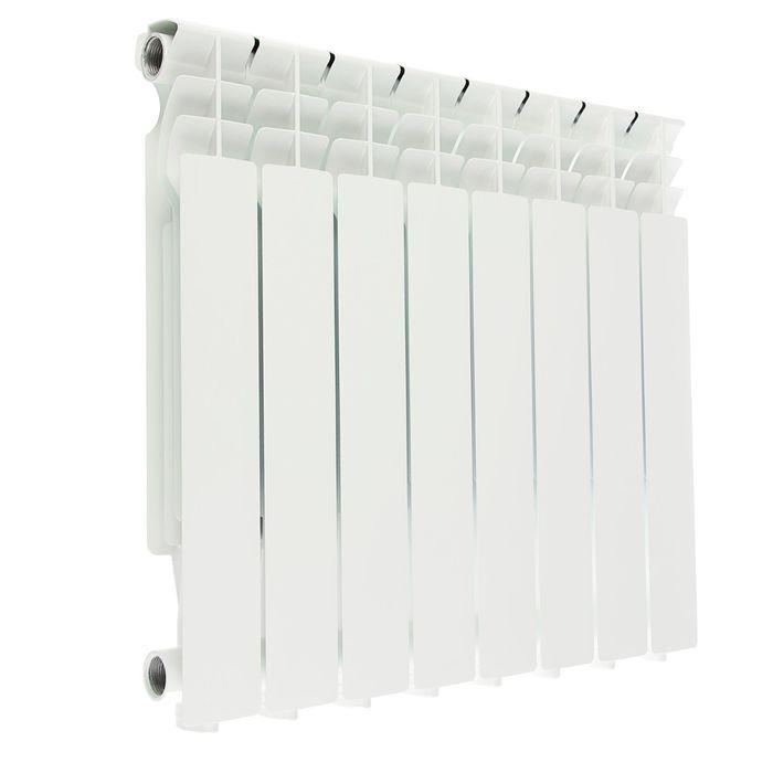 Радиатор алюминиевый Halsen, литой, 500х80, 8 секций