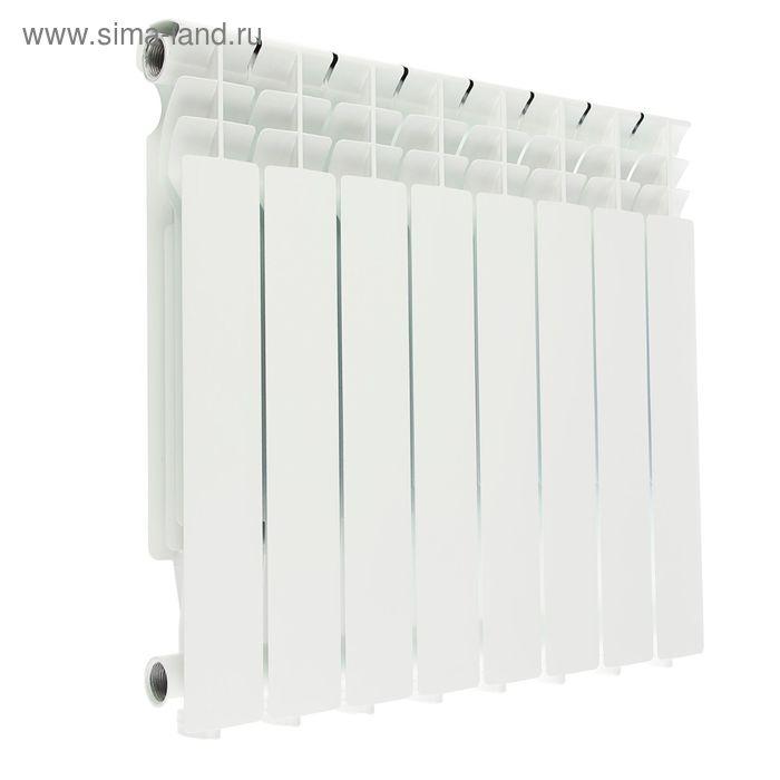Радиатор Halsen, алюминиевый, литой, 500/80, 8 секций