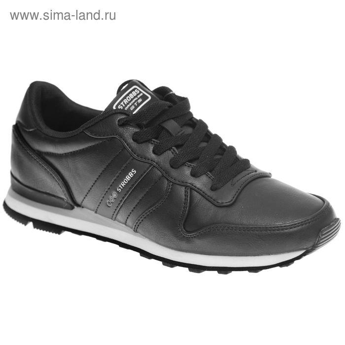 Кроссовки женские STROBBS, цвет чёрный, размер 39 (арт. F6366-3)