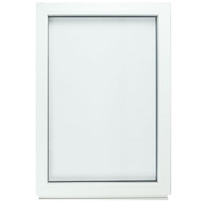 Окно ПВХ с подрамником, глухое, однокамерное, 700 х 1000 мм