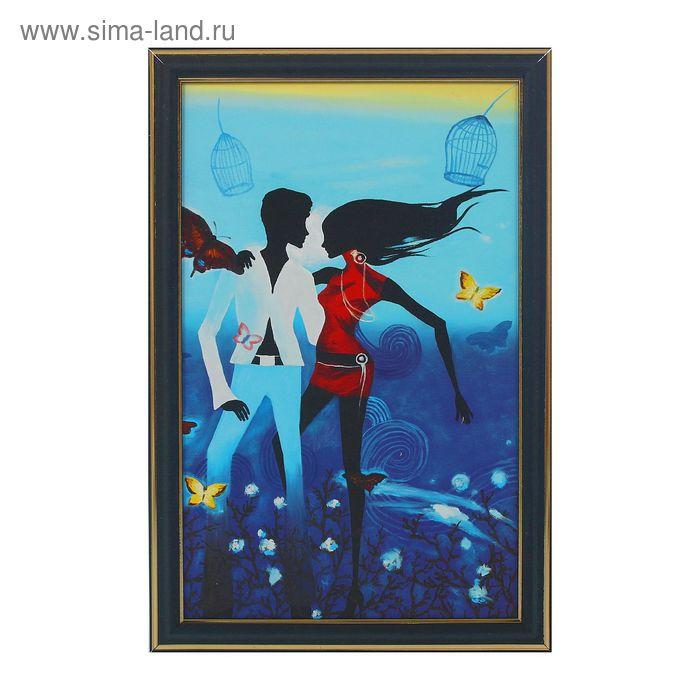 """Картина """"Любовь и бабочки"""""""