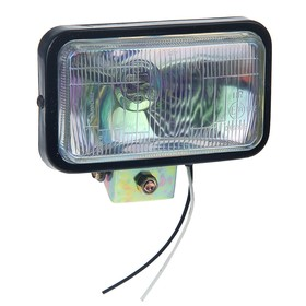 Fog lamp 15.5x9 cm, IP65, 12V, glass chameleon