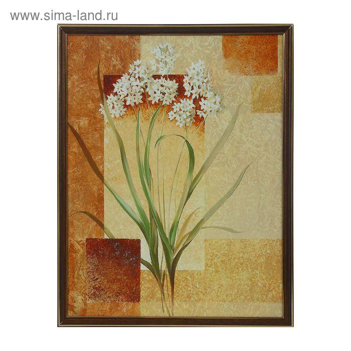 """Картина """"Цветы у стены"""""""