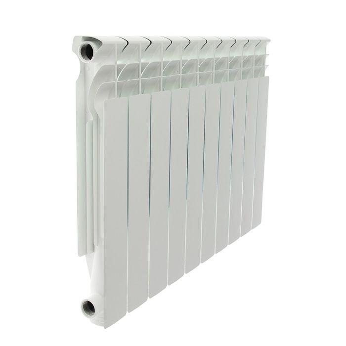 Радиатор алюминиевый Halsen 500/80/10 (М), 500х80 см, 10 секций, литой