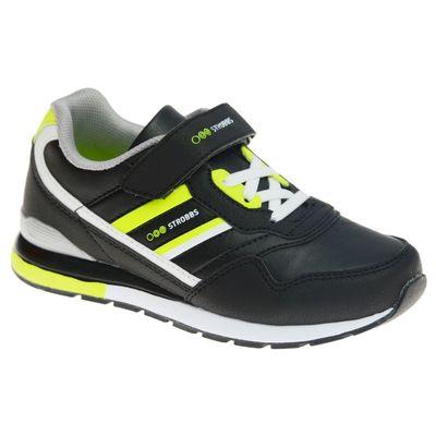 Кроссовки подростковые, цвет чёрный, размер 33
