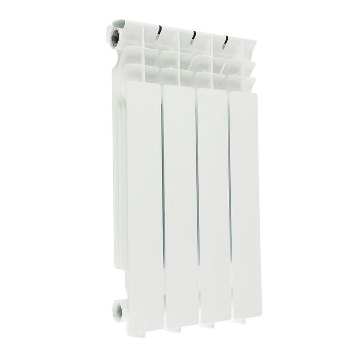 Радиатор алюминиевый Halsen 500/80/4 (М), 500х80 см, 4 секций, литой