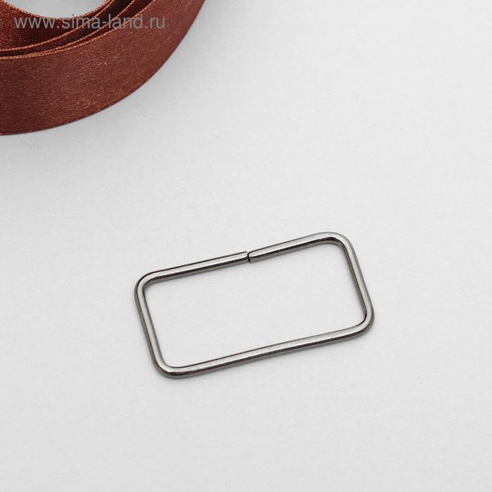 Рамка металл 30мм, цвет чёрный никель