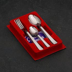 Набор столовых приборов «Модерн», 18 предметов - фото 69799