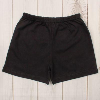 Шорты детские Platoshka, цвет чёрный, рост 104 см