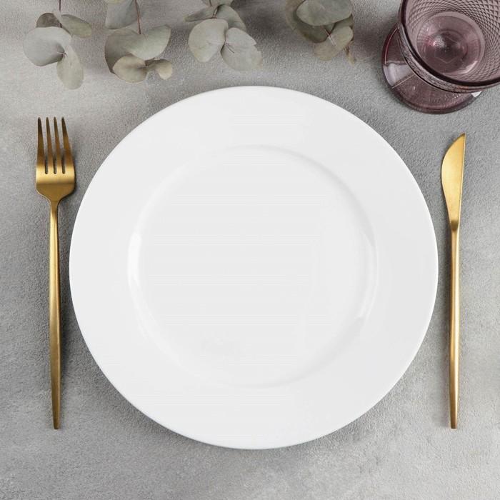 Тарелка обеденная Wilmax Stella «Классика», d=25,5 см - фото 308066678