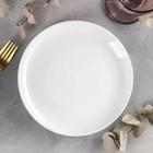 Тарелка десертная Olivia Pro, d=20 см, с утолщённым краем, цвет белый - фото 308066706