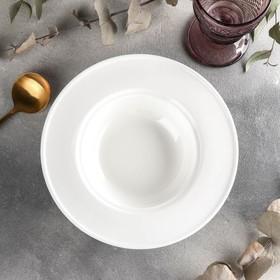 Тарелка глубокая Wilmax, 395 мл, d=22,5 см