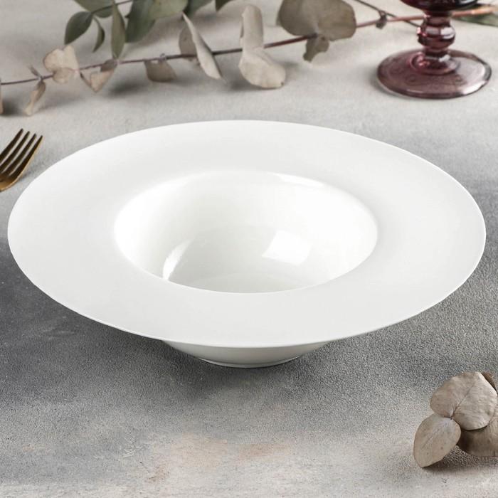 Тарелка для пасты Wilmax, d=25 см, 600 мл - фото 308066724