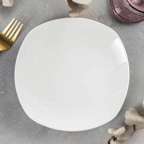 {{photo.Alt    photo.Description    'Тарелка десертная квадратная Wilmax Ilona, 19,5×19,5 см'}}