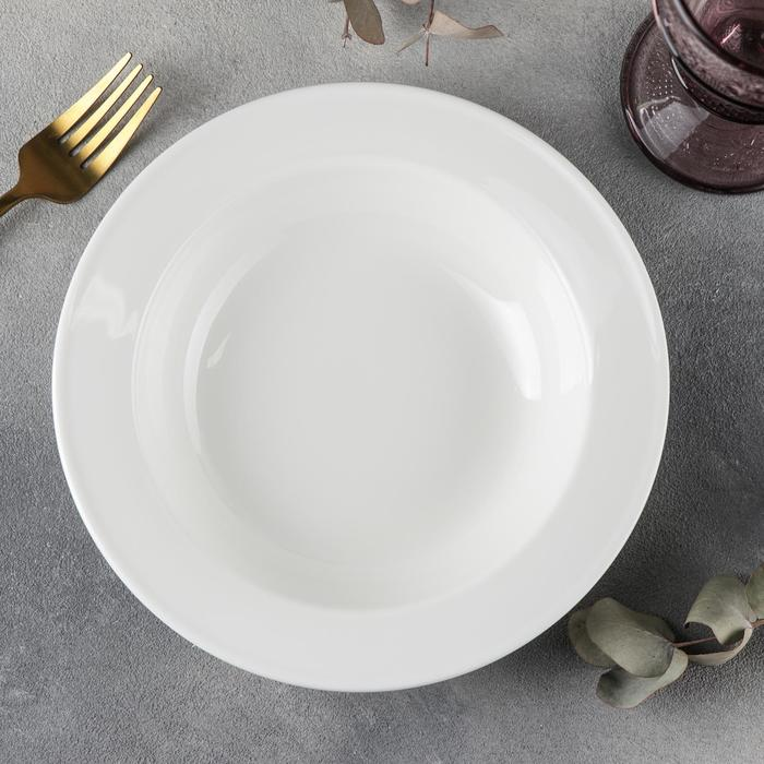 Тарелка глубокая 20 см, 380 мл WL-991016/A