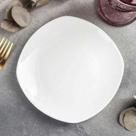{{photo.Alt    photo.Description    'Тарелка пирожковая квадратная Wilmax Ilona, 16,5×16,5 см, цвет белый'}}
