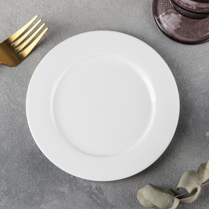 Тарелка пирожковая Stella «Классика», d=15 см, цвет белый - фото 308066675