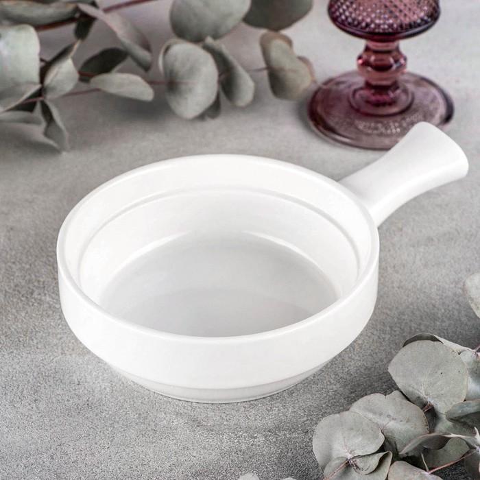 Форма для запекания Wilmax, d=15 см, 300 мл, цвет белый - фото 308067257