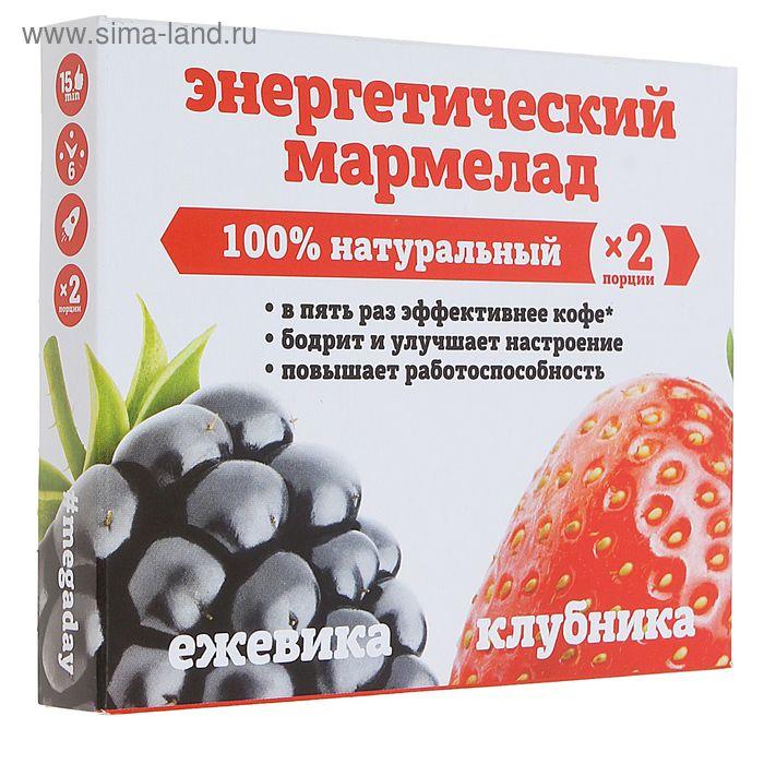 Мармелад энергетический MegaDay ягодный микс ежевика+клубника