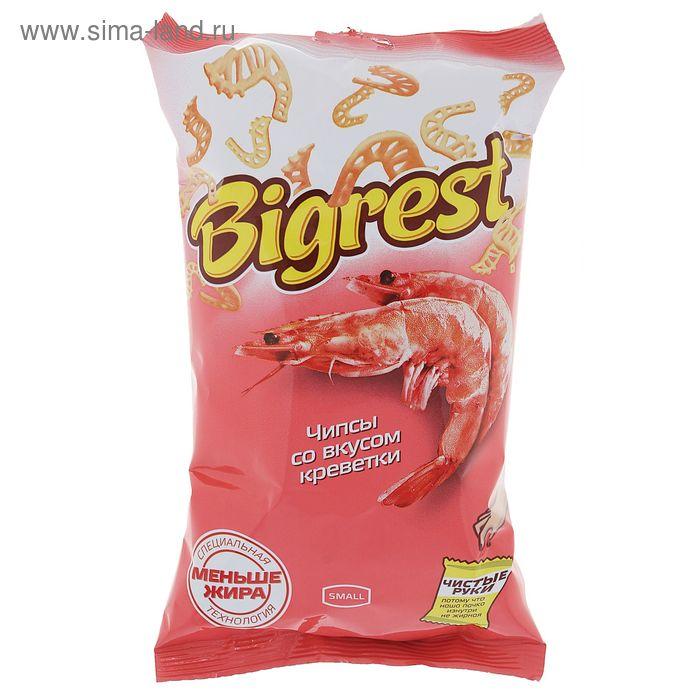 Чипсы Bigrest, со вкусом креветки, 40 г