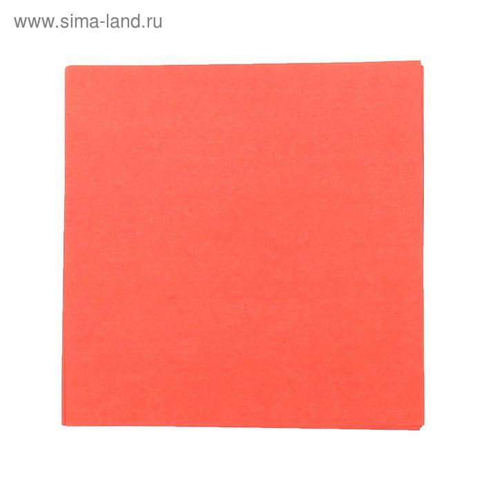 """Бумага для творчества """"Красная"""", плотность 80 г, набор 100 листов"""