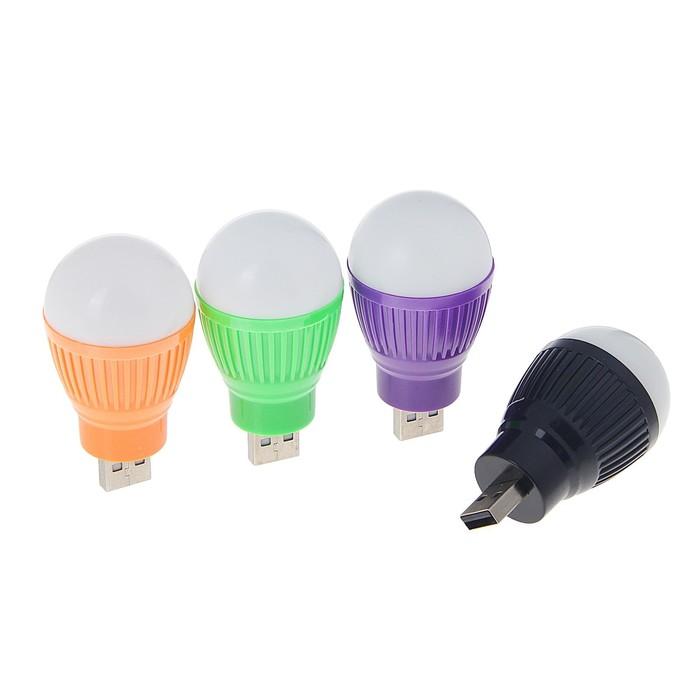 Светильник Luazon светодиодный Luazon, 5 ватт, в USB, микс