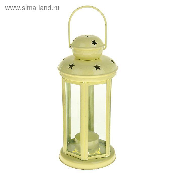 """Подсвечник 1 свеча """"Фонарь. Звёзды"""" МИКС"""