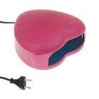 Лампа для гель-лака LuazON LUF-03, LED, 3 Вт, 28 светодиодов, розовая