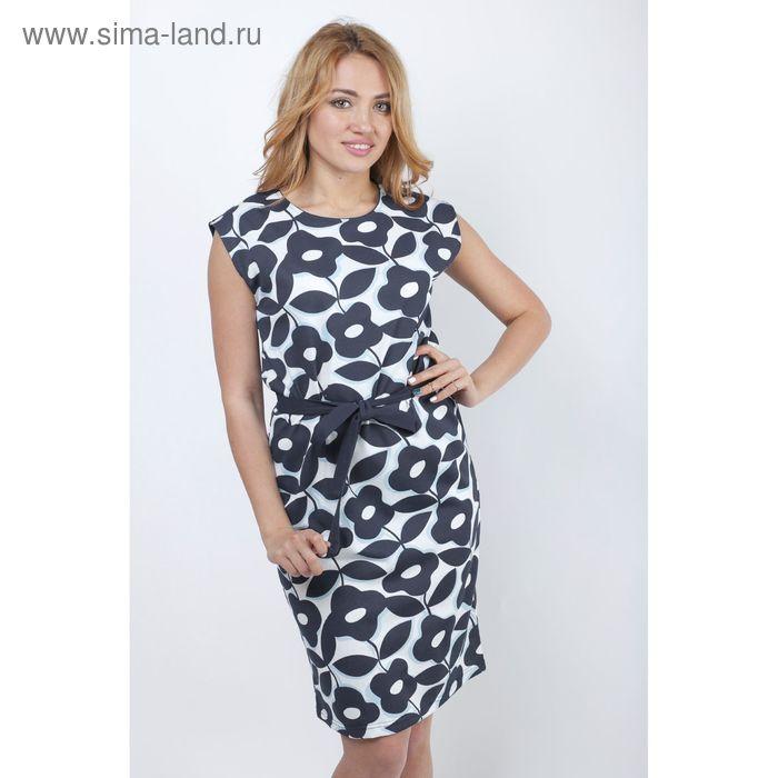 """Платье женское """"Гирлянды"""" Р707027, рост 158-164 см, р-р 52"""